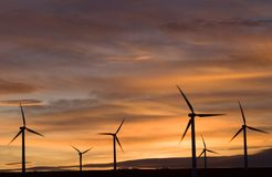 Wind Farm Royalty Free Stock Images