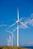 Wind farm. This is a photograph of a wind farm that I have taken Stock Photography