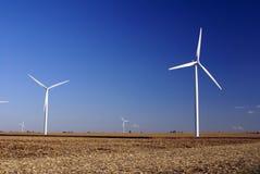Wind Farm. In Central Illinois Stock Photos