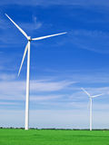 Wind farm Royalty Free Stock Photo