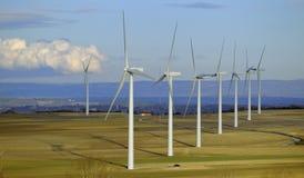 Wind farm stock photography