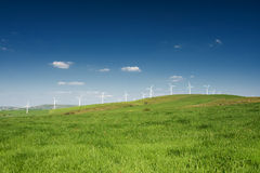 Wind Farm - alternative energy source Stock Images