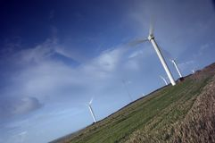 Wind farm in countryside Stock Photography