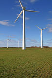 Wind farm field Stock Photography