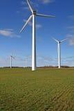 Wind farm field stock photography
