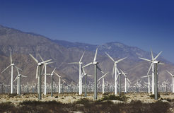 Power - Wind Farm - Green Energy royalty free stock images