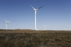 Wind Farm. In the Humansdorp area, South Africa stock image
