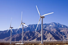 Wind Farm Hundreds Royalty Free Stock Image