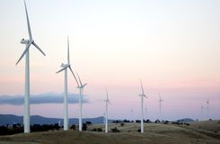 Wind Farm II Royalty Free Stock Images