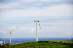 Wind farm near Upolu Point, Big Island Stock Image