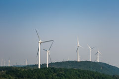 Wind farm - new energy Royalty Free Stock Image