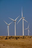 Wind Farm in Oklahoma Stock Photos
