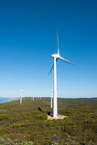 Wind Farm Power Western Australia Royalty Free Stock Photos