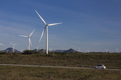 Wind farm in South Africa Stock Photography