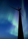 Wind farm south of Gull Lake Saskatchewan Royalty Free Stock Photos