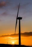 Wind Farm Sunrise Stock Images