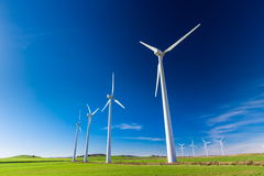 Wind farm. For a sustainable future Royalty Free Stock Photography