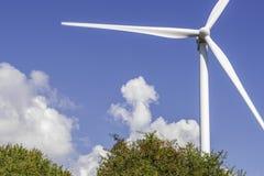 Wind farm in Val D`Agri hills, Basilicata royalty free stock photo