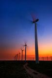 Wind farm Royalty Free Stock Photography