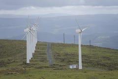 Wind farm. Royalty Free Stock Photography