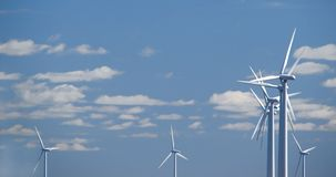 Wind farm w2 Stock Photo