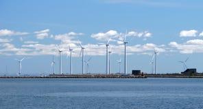 Wind farm w4 Royalty Free Stock Photo