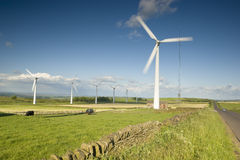 Wind Farm Yorkshire Royalty Free Stock Image