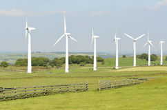 Wind Farm Yorkshire Royalty Free Stock Photography