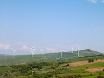 Wind farms Royalty Free Stock Photography