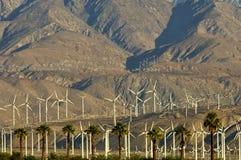 Wind Farms. Near Palm Springs, California stock photography