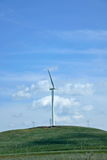 Wind farms Stock Images
