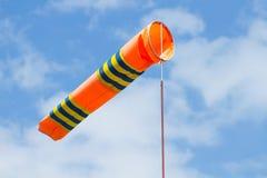 Wind flag windsock Stock Image