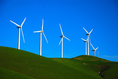 Wind Generating Farm Stock Photo