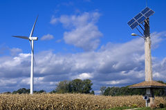 Wind Generaton 1 Stock Afbeelding