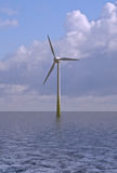 Wind Generator. This image shows a wind generator stock photos