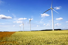 Wind generator Royalty Free Stock Image