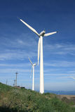 Wind-Generator Stockbild