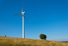 Wind generator. Windmills on the ridge of Stara Planina Stock Photo