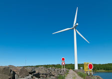 Wind generator Stock Images