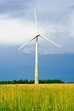 Wind generator stock image