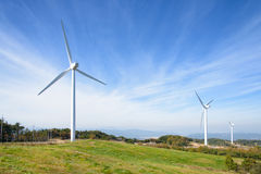 Wind generator Royalty Free Stock Photos
