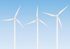 Wind generator set Stock Photography