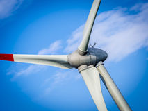 Wind generator turbine - close up Royalty Free Stock Photography