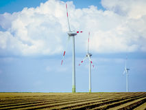 Wind generator turbines Royalty Free Stock Images