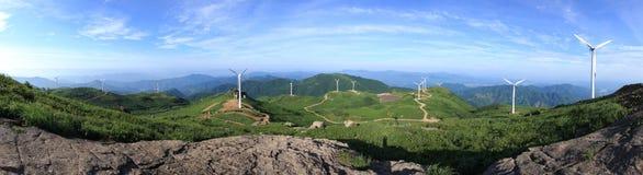 Wind-Generatoren Stockfoto