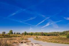 Wind-Generatoren Stockbild