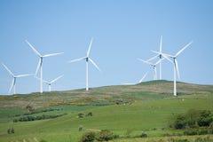 Wind generators Royalty Free Stock Photos