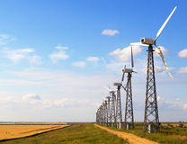 Wind generators Royalty Free Stock Photography