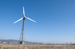 Wind generators Royalty Free Stock Image