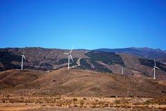 Wind generators, Andalusia, Spain. Stock Photo